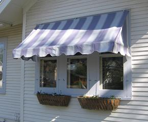 Single-pitch Loose Frame Awning