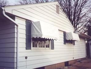 Box Double-pitch Loose Frame Awning