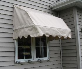 French Double-pitch Loose Frame Awning