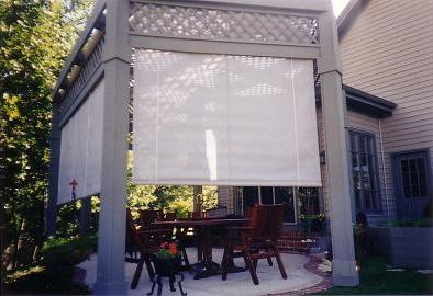 Mesh Pole Curtain