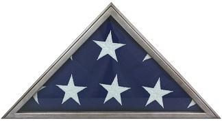 Metallic Gray Flag Case